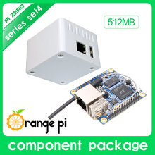Orange Pi Zero Set4:Orange Pi Zero512MB+Protective White Case H2 Quad Core Open-source development board beyond Raspberry Pi