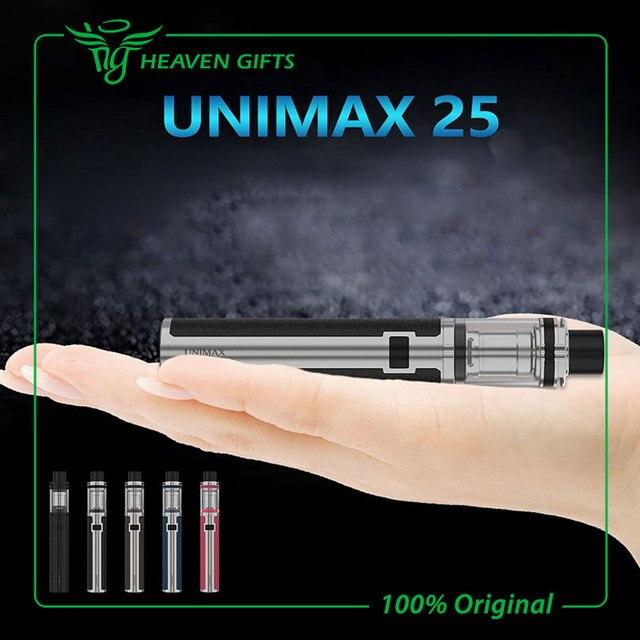 100% original joyetech unimax 25 starter kit con tfta-tanque de 5 ml y UNIMAX 25 Batería 3000 mah UNIMAX 22 Kit w/BFL BFXL Bobina