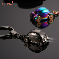 Mini Car Key Chain Upscale Auto Styling Keychain With LED Light Key Ring For Land Rover