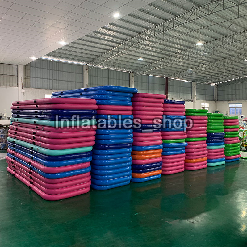 Free Shipping 3m Long Pink Cheap Outdoor Gymnastics Mat Inflatable Air Floor Tumble Track Airtrack