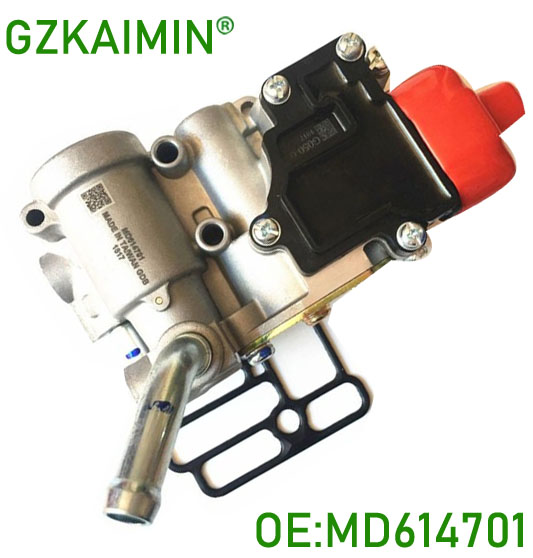 все цены на TOP QUALITY MADE TAWIAN Idle Air Control Valve IACV OEM MD614701 brand new for for mitsubishi mirage 4G15 engine онлайн