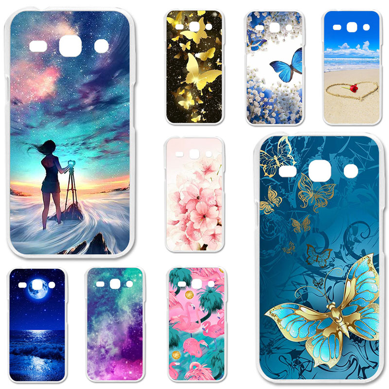 TPU Cases For <font><b>Samsung</b></font> Galaxy <font><b>G350E</b></font> Case Silicone Floral Painted Bumper For <font><b>Samsung</b></font> Star 2 Plus SM-<font><b>G350E</b></font> 4.3 inch Phone <font><b>Cover</b></font> image