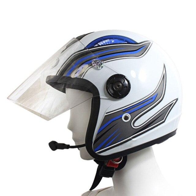 Moto de la motocicleta Mono Altavoz Bluetooth V3.0 Auricular Manos Libres para el Uso Del Casco para el Motociclismo car-styling