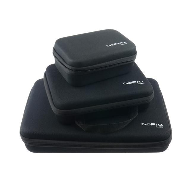 LANBEIKA For Gopro 3 Sizes Nylon Portable Storage Collection Bag Case for GoPro Hero 6 5 4 3+ SJCAM SJ5000 M20 SJ6 SJ7 EKEN