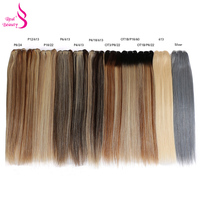 Real Beauty Blond Straight Hair Bundles Brazilian Hair Weave Bundles 18 24 Remy Hair Extensions 613 P6/613 Silver OT1B/P18/60