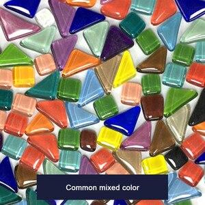 Mosaico cuadrado de vidrio de varios colores, 500 Uds., Tessera piezas para hacer mosaicos, manualidades DIY