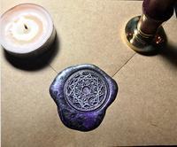 1pcs Star Cardcaptor Sakura Power Sun And Moon Magic Pattern Gold Plated Wax Seal Stamp Sealing