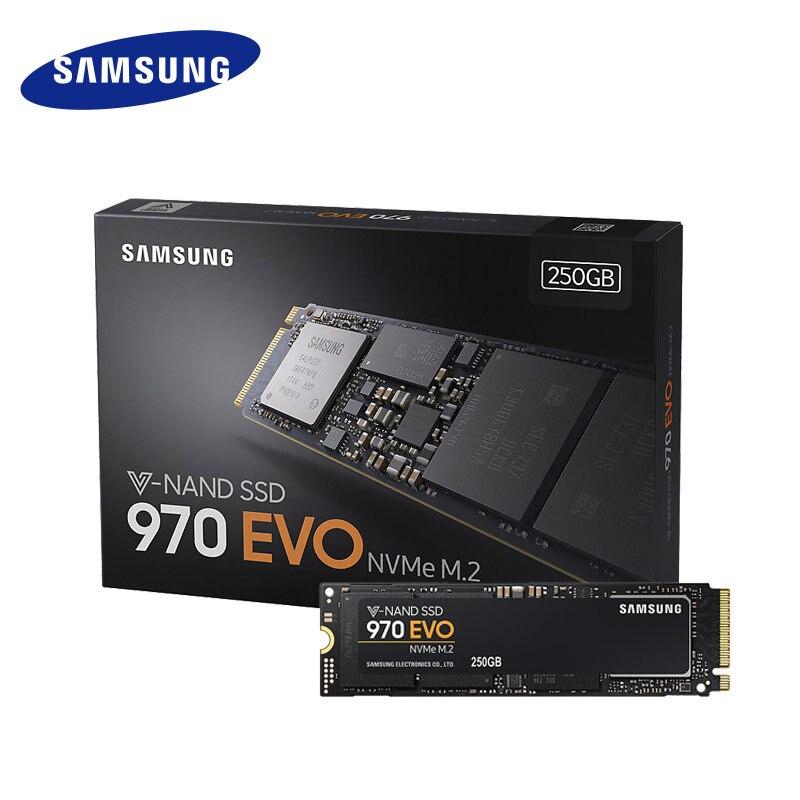 Samsung 250gb 500gb 1tb 970 Evo Nvme M 2 Ssd Solid State Hard Disk