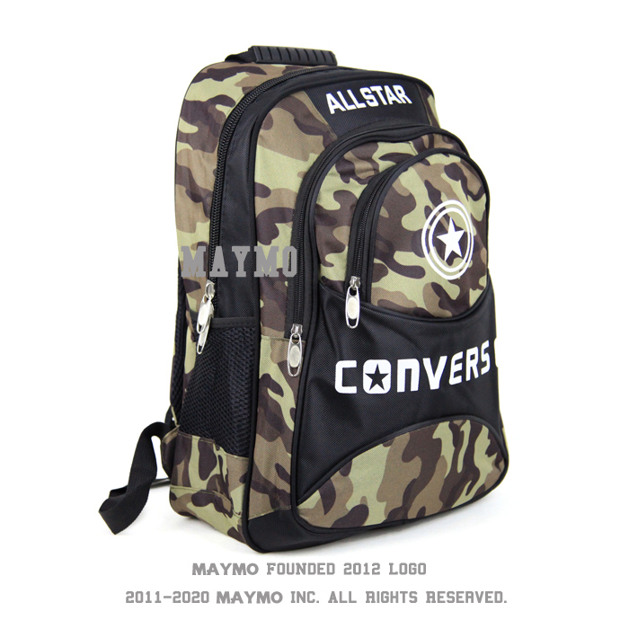 3a70f8b34c2ff1 2015 new Converse shoulder bag backpack male Korean version of camouflage  backpack schoolbag female students travel backpack com