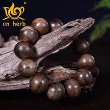 Eaglewood Wood Bunch Of Natural Aloes Men And Women With Agalloch Bead Hand String Factory Direct Sale