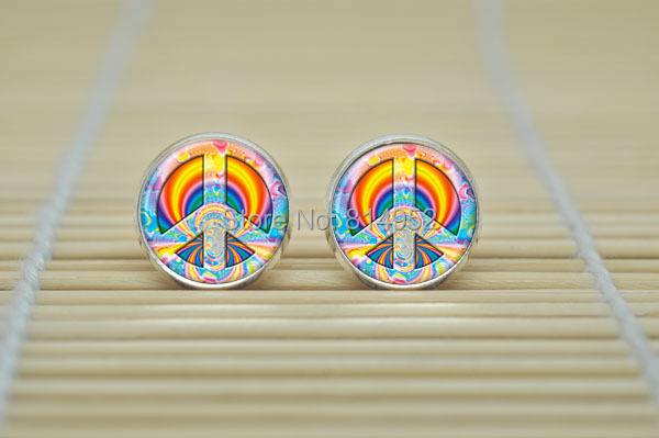 Image result for peaceful earrings