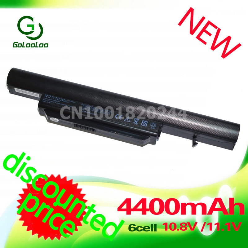 Golooloo laptop battery for Hasee SQU-1002 K580 PA560P SQU-1003 R410 CQB913 CQB916 CQB912 K580S CQB917 SQU-1008 R410G R410U T6-3 14 8v 2600mah original squ 1201 laptop battery for hasee q480s un43 un45 un47 cqb 924 squ 1202 916t2203h 916t2232h 916q2203h