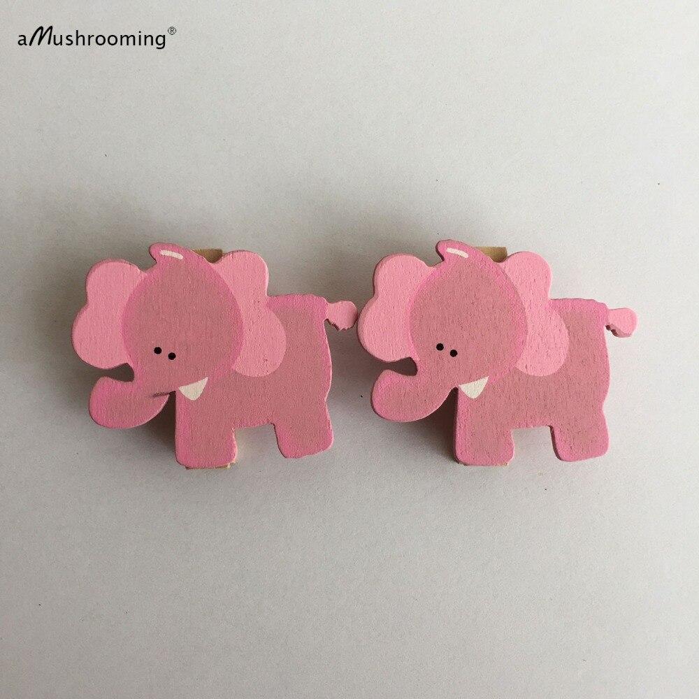 Aliexpress.com : Buy Set Of 48 Pink Blue Elephant Mini