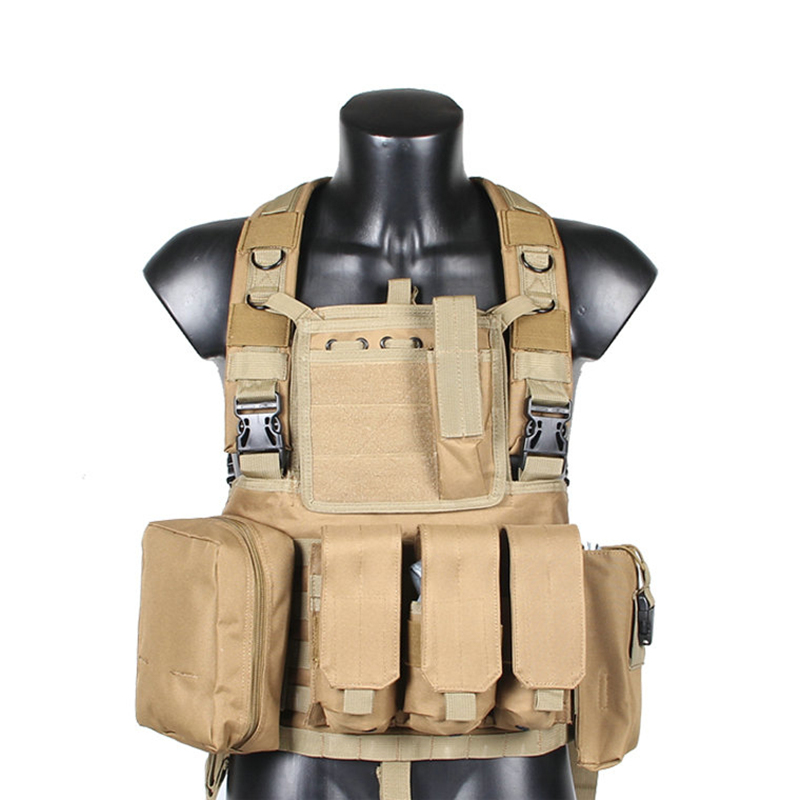 Military Multifunction Tactical Camouflage Uniform Combat Vest Colete Python Chaleco Amy Clothing US Navy Seal camo Waistcoat