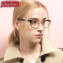 Chashma TR 90 Cat Eyes Black Brown Wine Red Eyeglasses Fresh Myopia Spectacle Student Fashion Prescription Glasses Frame