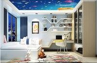 Custom papel DE parede infantil large murals space for children room ceiling wall vinyl which papel DE parede