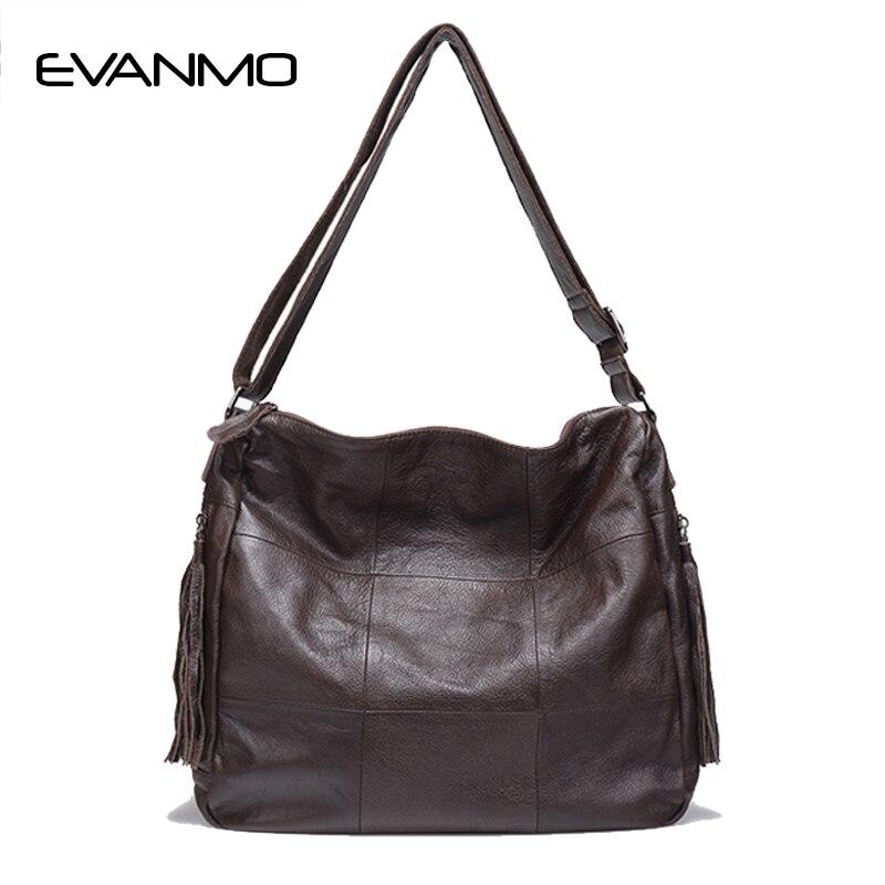 2018 Продвижение Бросился 100% из натуральной кожи Для женщин Сумки европейский и американский Стиль женская сумка просто Дизайн плед