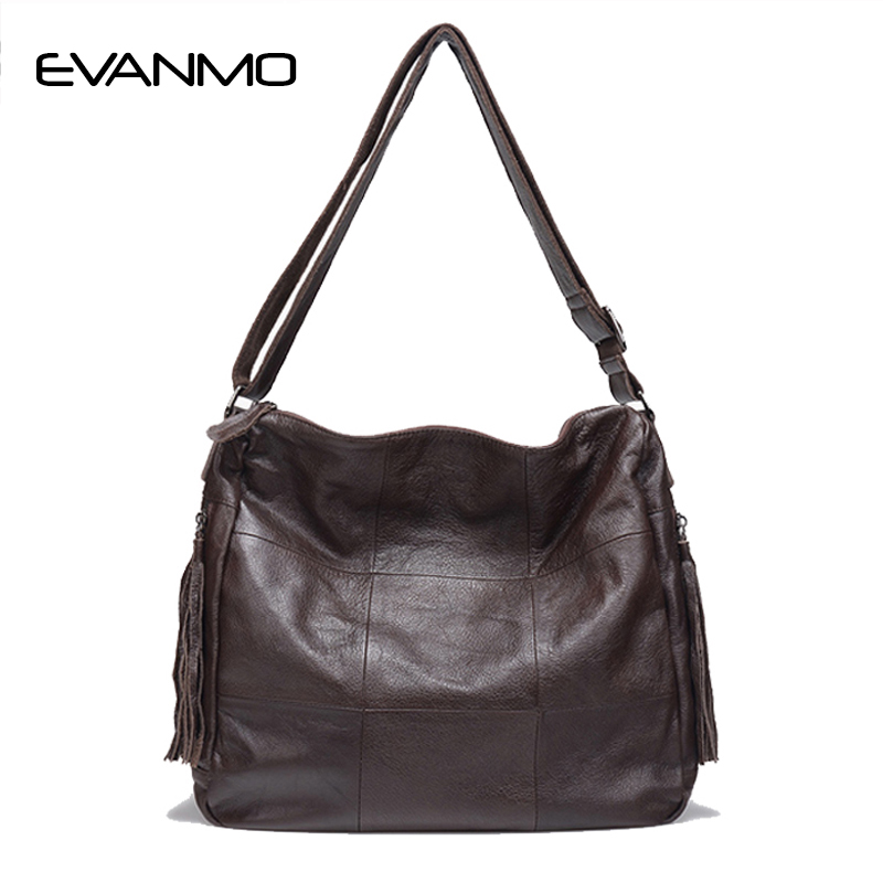2018 Promotion Rushed 100% Genuine Leather Women Handbags European And American Style Female Shoulder Bag Simply Design Plaid hansomfy womens handbags solid patent leather shoulder bag european and american style versatile female vintage bucket brand bag