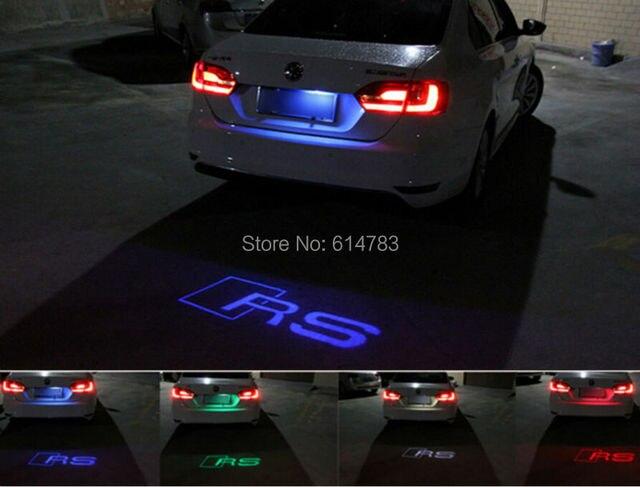 Lampadina Luci Targa : Pezzo laser ombra logo proiettore lampada auto luci targa a led
