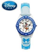 2017 Disney Kids Reloj Niños Reloj de La Manera Ocasional Lindo Fresco Relojes de pulsera de Cuarzo Niños Reloj Resistente Al Agua