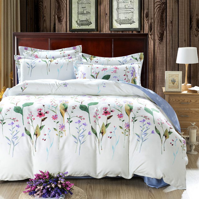 Allium Comforters And Quilts White Comforter Sets Floral Bed Sheets Full Size Comforter Sets Cheap Bed Linen Luxury Bedding