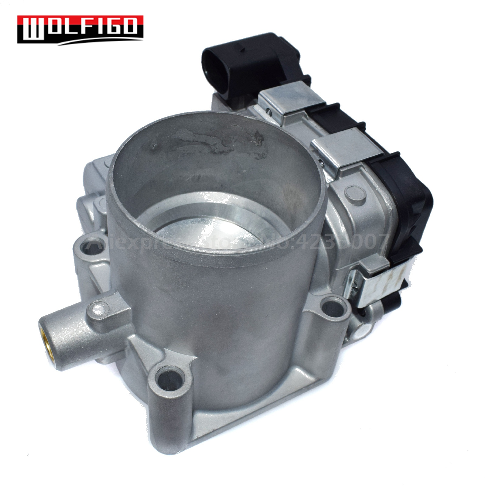 WOLFIGO New Throttle Body Assembly For VW Touran Golf 1.4 TSI 03C133062AA, 03C133062D, 03C 133 062 D,03C 133 062 AA