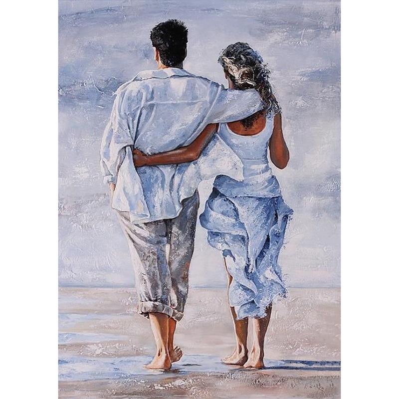 Жена и муж в вышивке