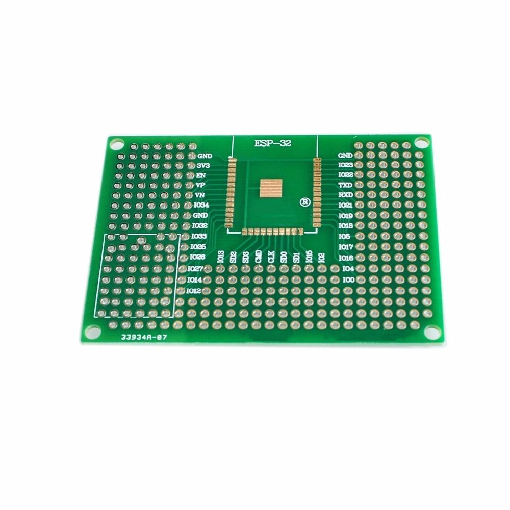 Platte PCB Prototyp doppelseitig 5x7 cm Doppelt Side tafel PCB DIY Prototyp