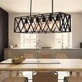 Подвесной светильник в американском стиле  винтажный  из кованого железа  Эдисона