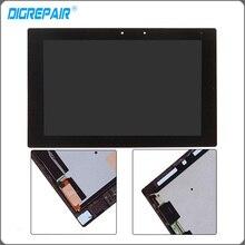 "10.1 ""pulgadas Negro Para Sony Xperia Tablet Z2 Pantalla LCD Táctil Digitalizador Asamblea Completo pieza de recambio Envío Gratis"