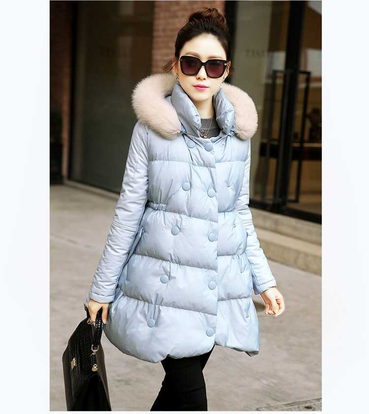 New Arrival Winter Western Winter Cotton Thicken Adjustable Hem Detachable Hat Large Fur Collar Hooded Outwear Women Coat H4284 new arrival fashion korean winter hooded cotton adjustable hem double breasted puff sleeve fur collar women jacket coat h4283