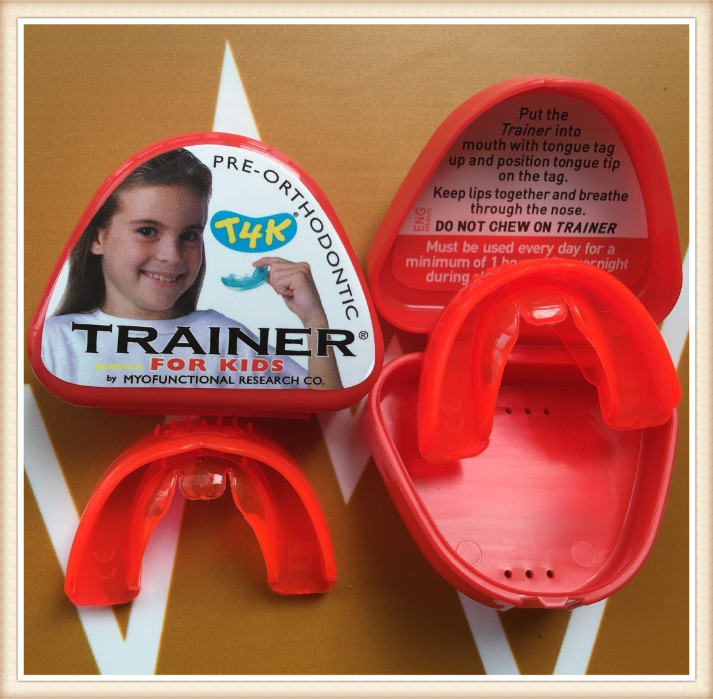 t4k teeth orthodontic trainer made in australia Phase 2 red color myofunctional infant trainer phase ii hard oringal made in australia infant primary dentition trainer girls