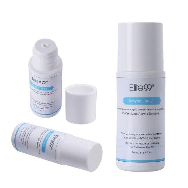 Elite99 Acryl Flüssigkeit Monomer Falsche Acryl Nail art Design-Tool Maniküre Nail art Für Acryl Pulver Staub Nagel Tipps Pulver