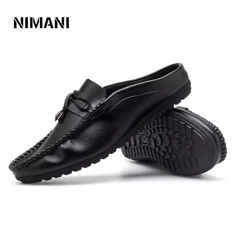 De white Mocassins Conduite Respirant Appartements Bateaux Casual D'été Hommes Marche Mode Nouveau Black red Chaussures Pour xnZwUqAI4