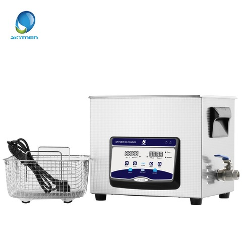 SKYMEN Newest Digital Ultrasonic Cleaner Stainless Steel  10l  liter ultrasonic cleaner with heater and Timer degasing Multan