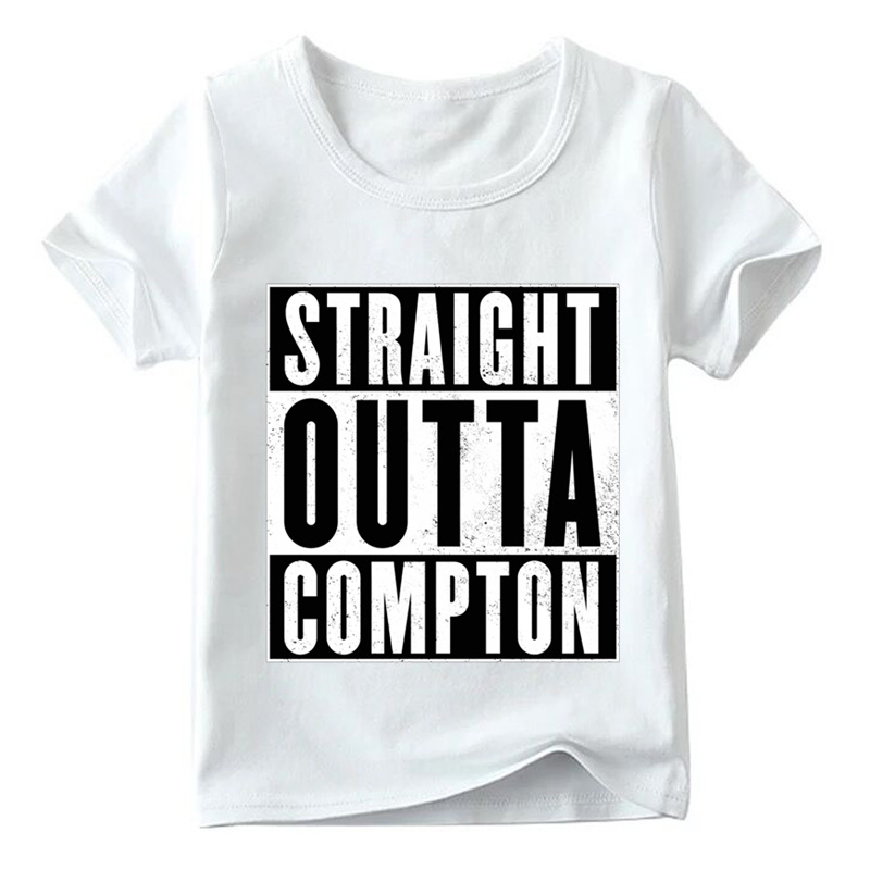 HTB1Ct26LFzqK1RjSZFCq6zbxVXap - Matching Family Outfits NWA Straight Outta Compton Print T-shirt Family Matching Look Clothes Kids&Man&Woman Funny Tshirt