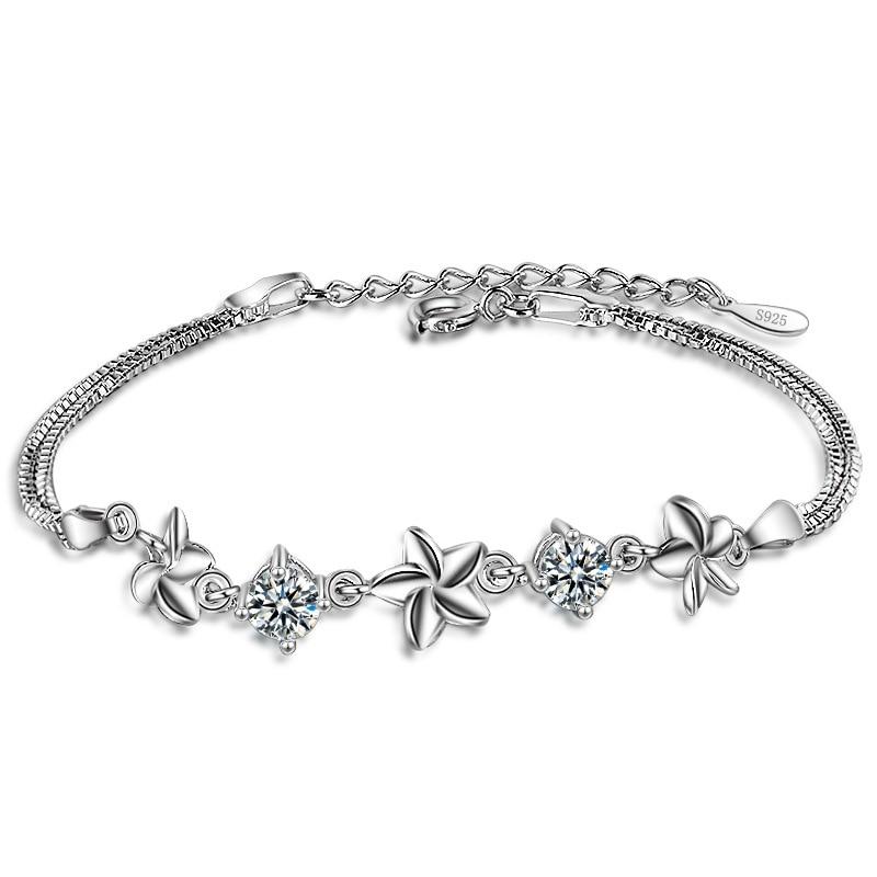 QCOOLJLY New Sell Pretty Star Pattern Bracelet for Women