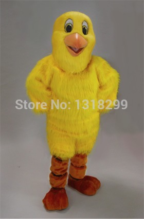 mascot Yellow Chick Chicken mascot costume fancy dress custom fancy costume cosplay them ...