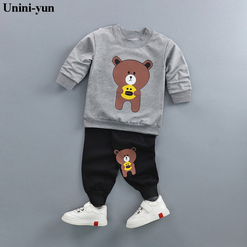 Brand Baby Suits kids Clothes Sets Baby Girl Suits Long Sleeve Coats Pants 2 pcs Sport Baby Sets For Boys Kids Clothing sets