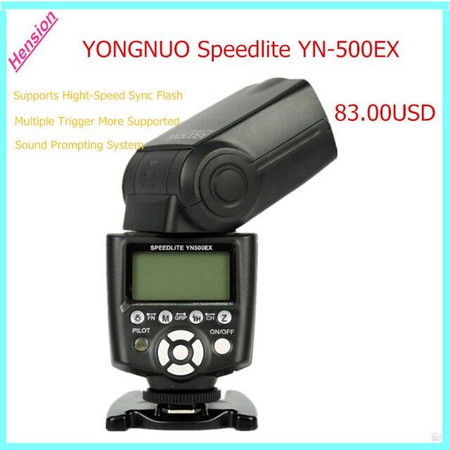 Yongnuo yn-500ex yn500ex hss ttl de flash speedlite para canon d4, D3x, D3s, D3, D2x, D700, D300s, D300, D200, D7000, D90, D80
