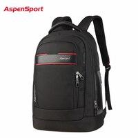 AspenSport 2017 Waterproof Unisex Business Backpack Men S Backpack For 15 Laptop Fashion Women Notebook Bag