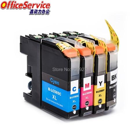 lc567xl lc565 cartucho de tinta compativel para o irmao mfc j2510 mfc j2310 mfc j3520