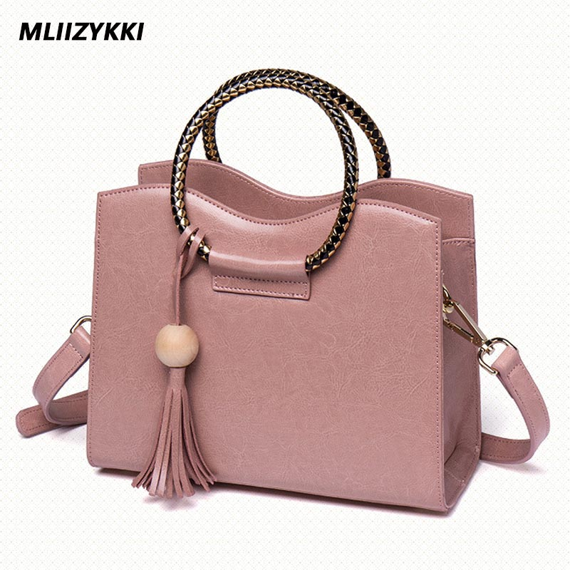 MLIIZYKKI Women Messenger Bags Beautiful Women Handbag Fashion Tassel Bag Sweet Women Genuine Leather Bag 2016 fashion women bag women handbag women messenger bags 1stl