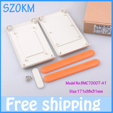1 piece free shipping enclosure free  diy electronic plastic junction box plastic box project electronic 171X98X31 MM