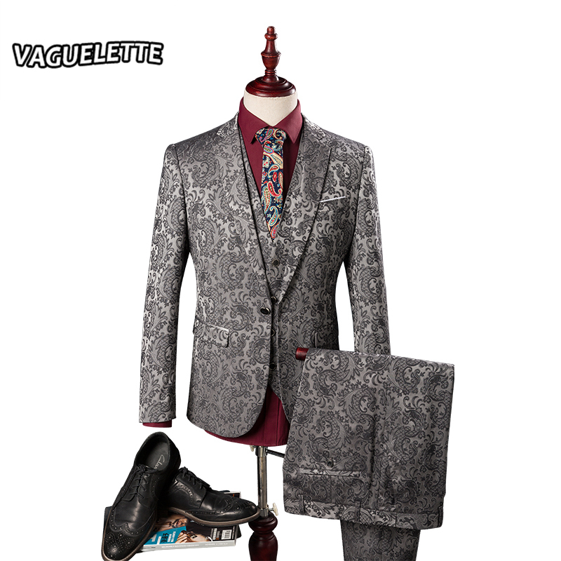 buy blazer pants vest herren anzug hochzeit vines floral patterns mens. Black Bedroom Furniture Sets. Home Design Ideas