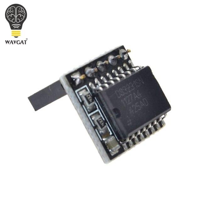 Diy ds3231 precisão rtc relógio módulo de memória para arduino raspberry pi