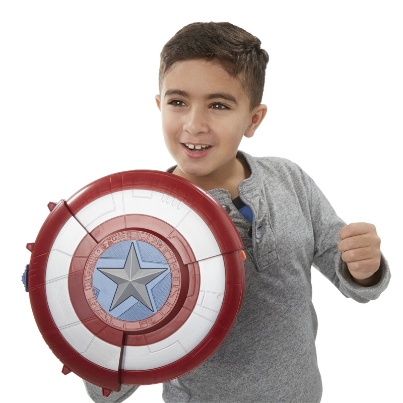 ФОТО the the avengers super heros captain america shield launcher shoot gun action figure toys for baby kids gifts