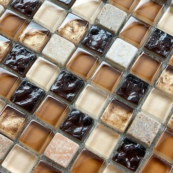 Azulejo de mosaico para pared del baño backsplash de la cocina ...