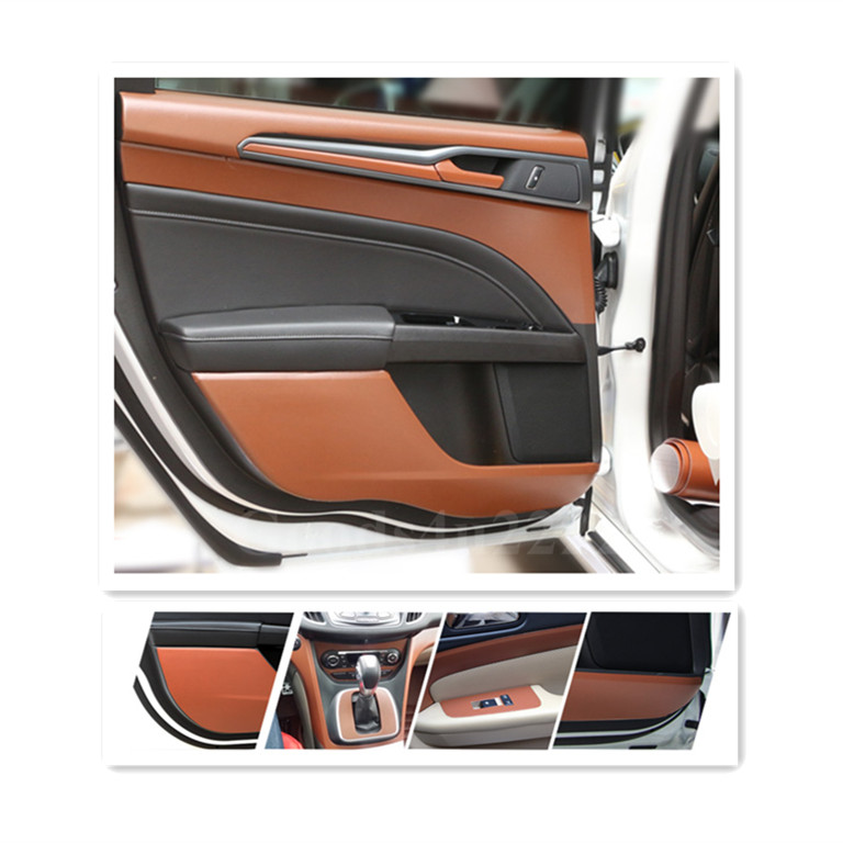 brown car interior dashboard adhesive leather decorative texture film. Black Bedroom Furniture Sets. Home Design Ideas