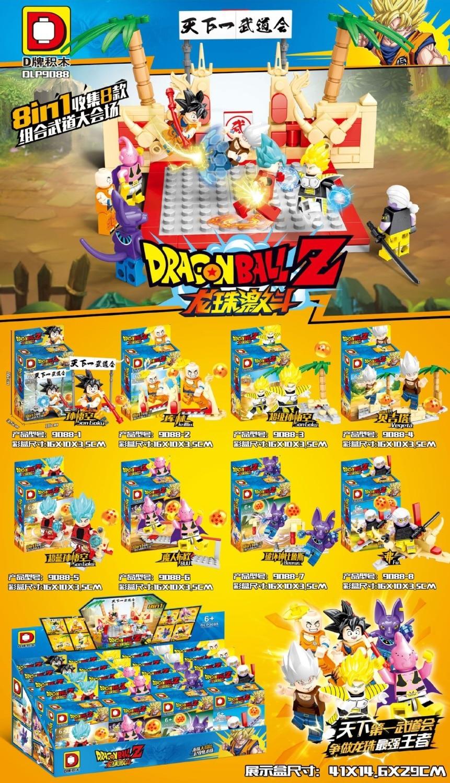 80 stücke Dragon Ball Z Figuren Goku Vegeta Perfekte Zelle Majin Buu Gohan Bulma Tien Shin Han Bausteine Kinder spielzeug-in Sperren aus Spielzeug und Hobbys bei  Gruppe 1